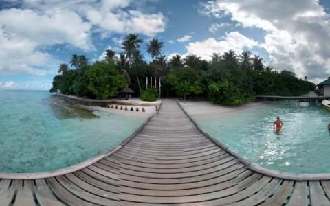 Kugelpanorama Malediven