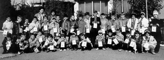 Primary school Nr. 18 Timisoara 1984-1988, School excursion to the Bega factory in Timisoara
