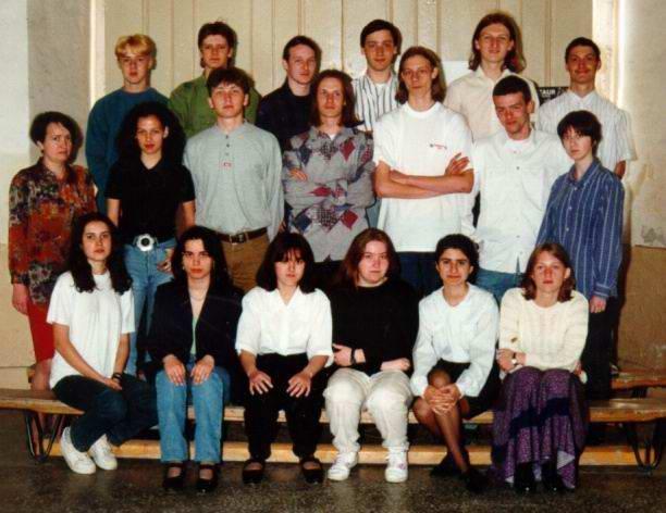 The finisher of the Lenau school Timisoara, year 1996