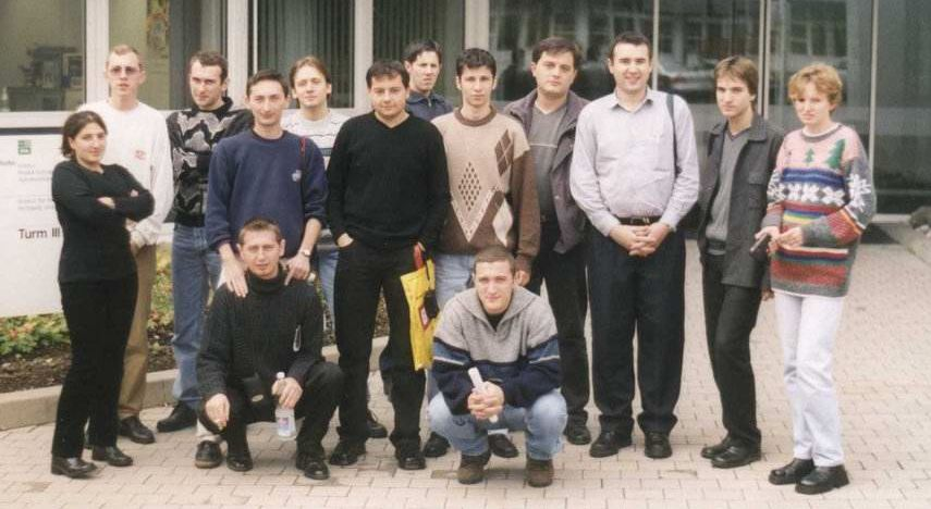 "University colleagues of the ""Universitatea Politehnica din Timisoara"", year 1996-2001"