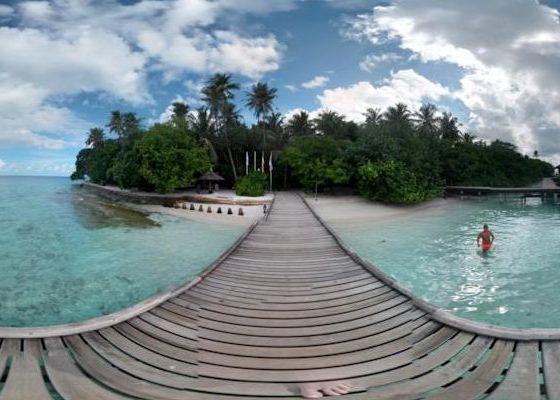 Panorama sferica Maldive 02